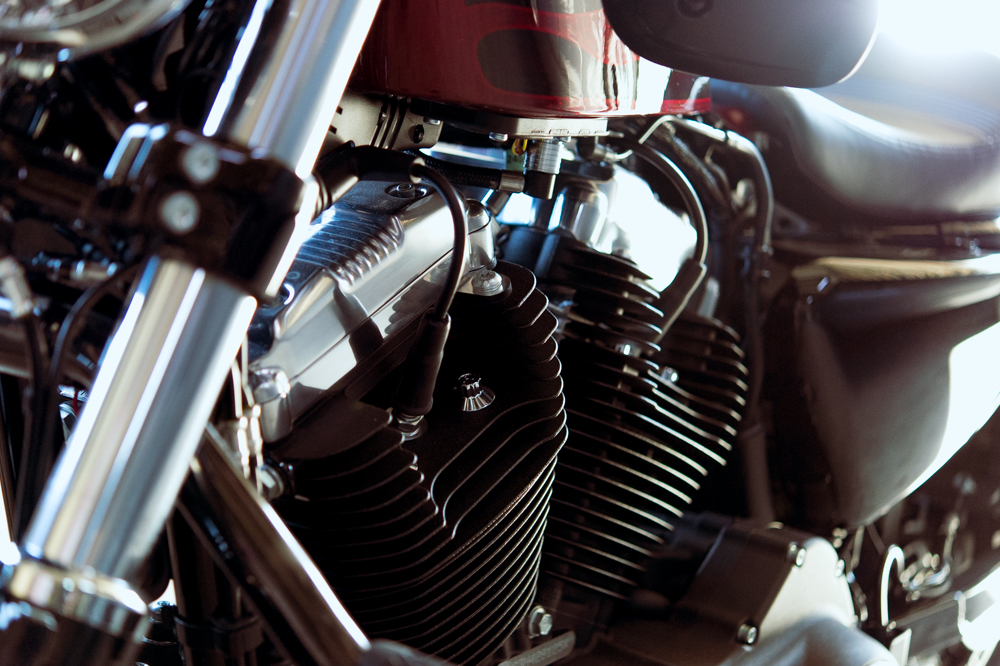 愛車 Harley-Davidson Forty Eight